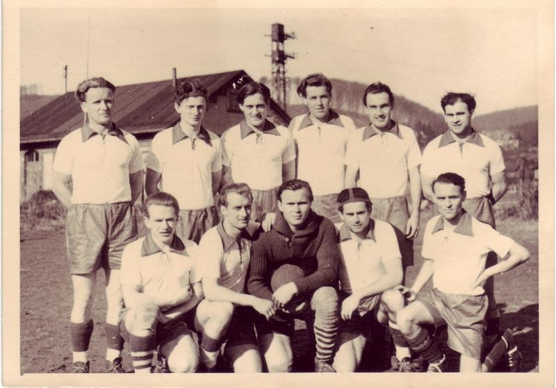 hinten von links: Rudi Schrenke, Klette, Probst, Thiel, Fritz Klinke, Sieber vorne vonlinks: Deike, Reinert, Macha, Wienecke, Nienstedt